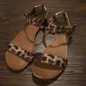 Cheetah / Leopard  Sandals